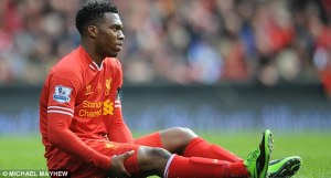 Sturridge Injury